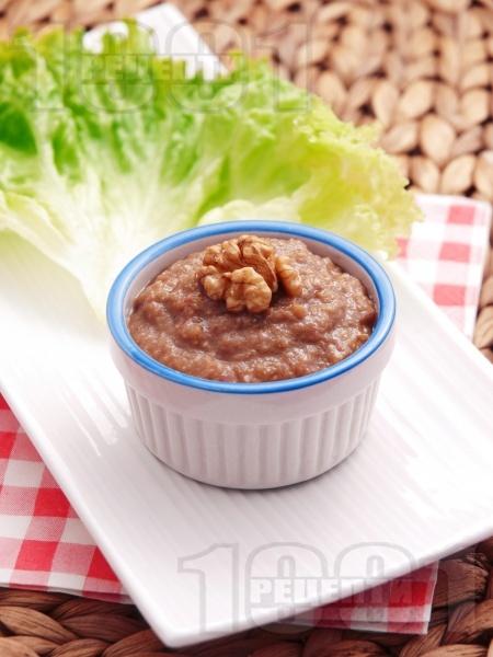 Маслинова паста с орехи - снимка на рецептата